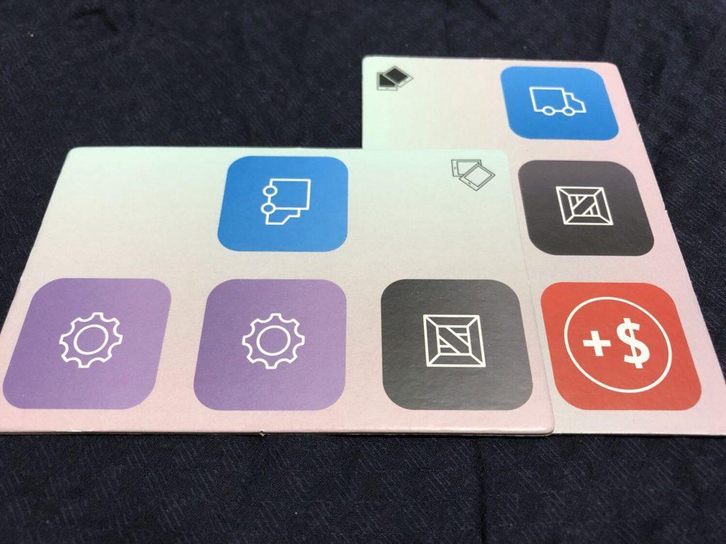 スマートフォン株式会社のタイル配置例