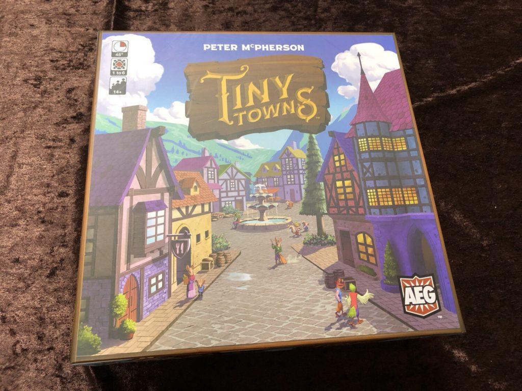 タイニータウン(Tiny Towns)のボックスアート
