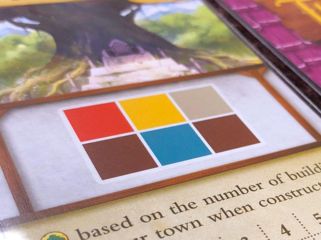 タイニータウン(Tiny Towns)の建物カード