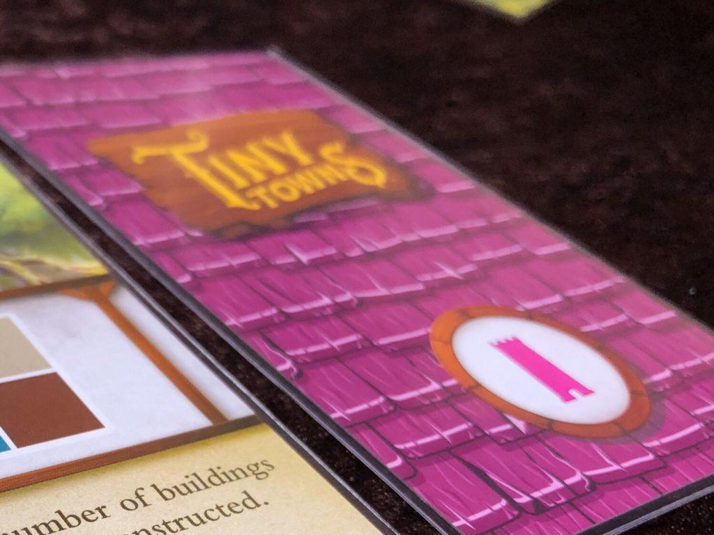 タイニータウン(Tiny Towns)の個別カード