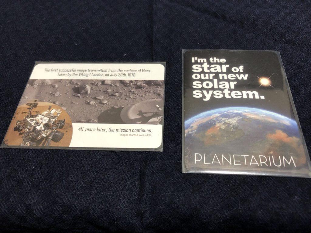 プラネタリウム(planetarium)のプロモカード