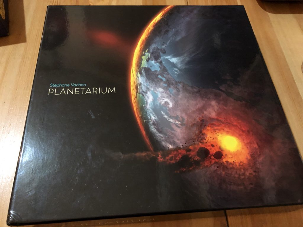 プラネタリウム(planetarium)のボックスアート