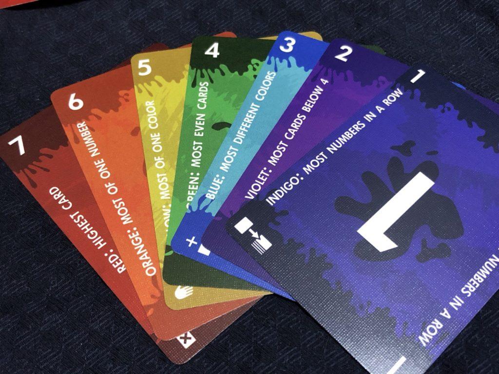レッド7のカードデザイン