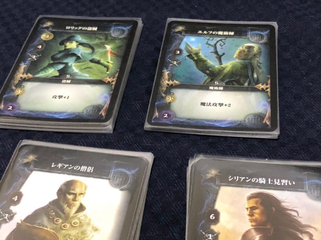 サンダーストーン完全日本語版の英雄カード