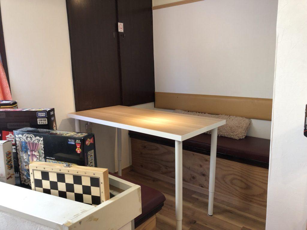 グーニーカフェの半個室