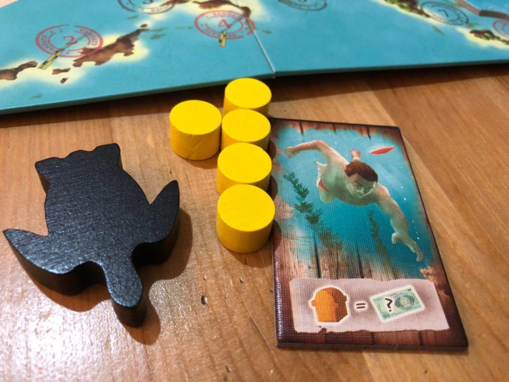 バヌアツ(Vanuatu)のワーカーとスタートプレイヤー駒