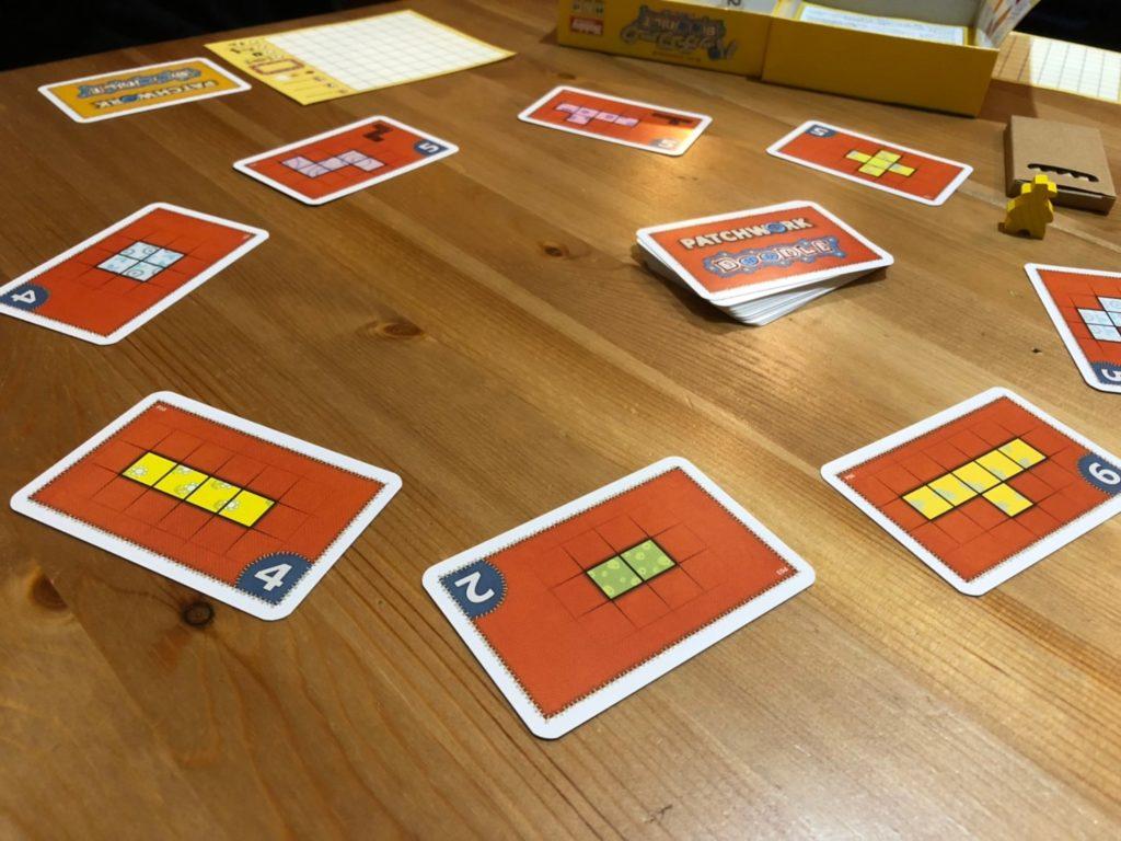 パッチワーク:ドゥードゥル 日本語版のカード