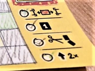 パッチワーク:ドゥードゥルの特殊アクション