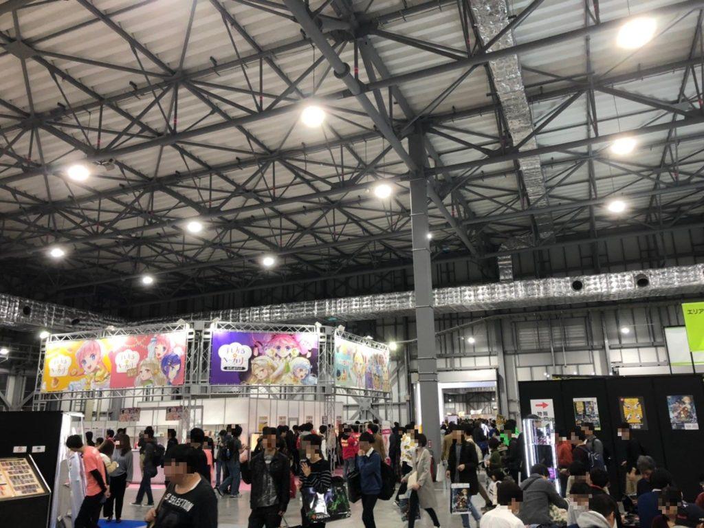 ゲームマーケット秋2019の会場の様子
