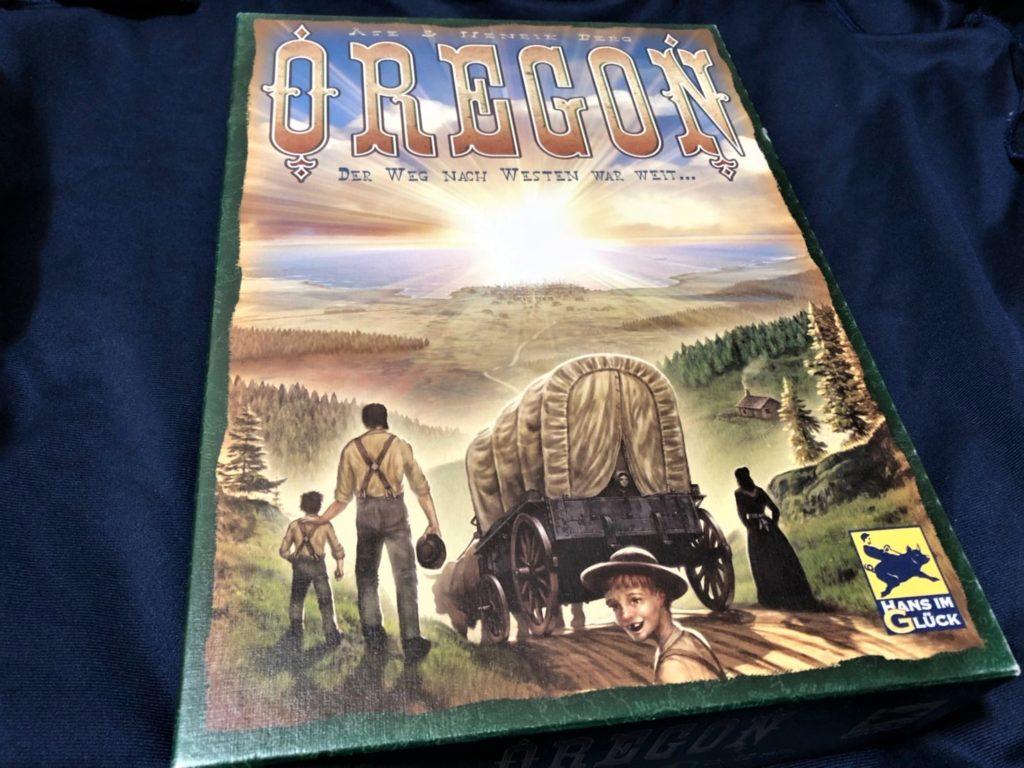 オレゴン(OREGON)のボックスアート