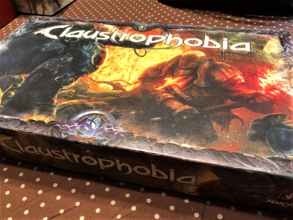クローストロフォビア(Claustrophobia)のボックスアート