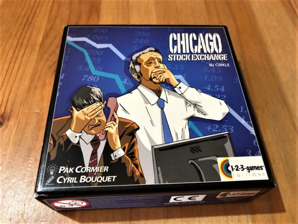 シカゴ証券取引所のボックスアート