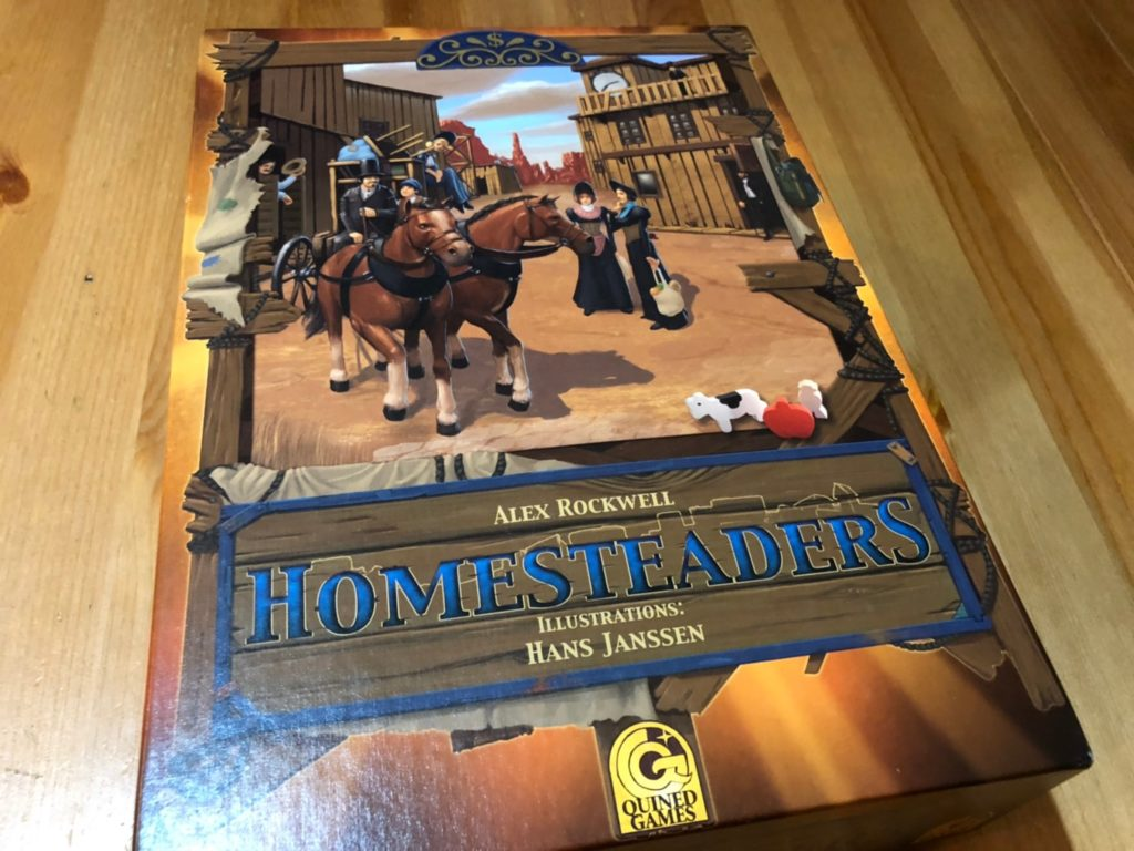 ホームステッダーズ(Homesteaders/第3版)のボックスアート