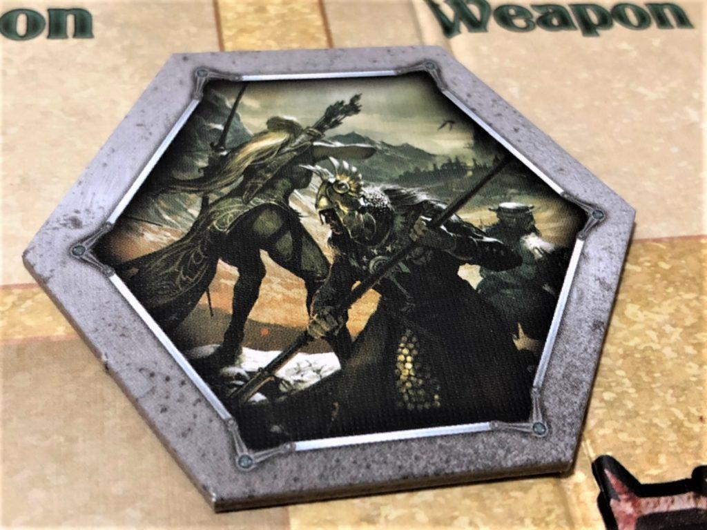 指輪物語:カードゲーム(The Lord of the Rings: The Card Game)のスタートプレイヤーマーカー