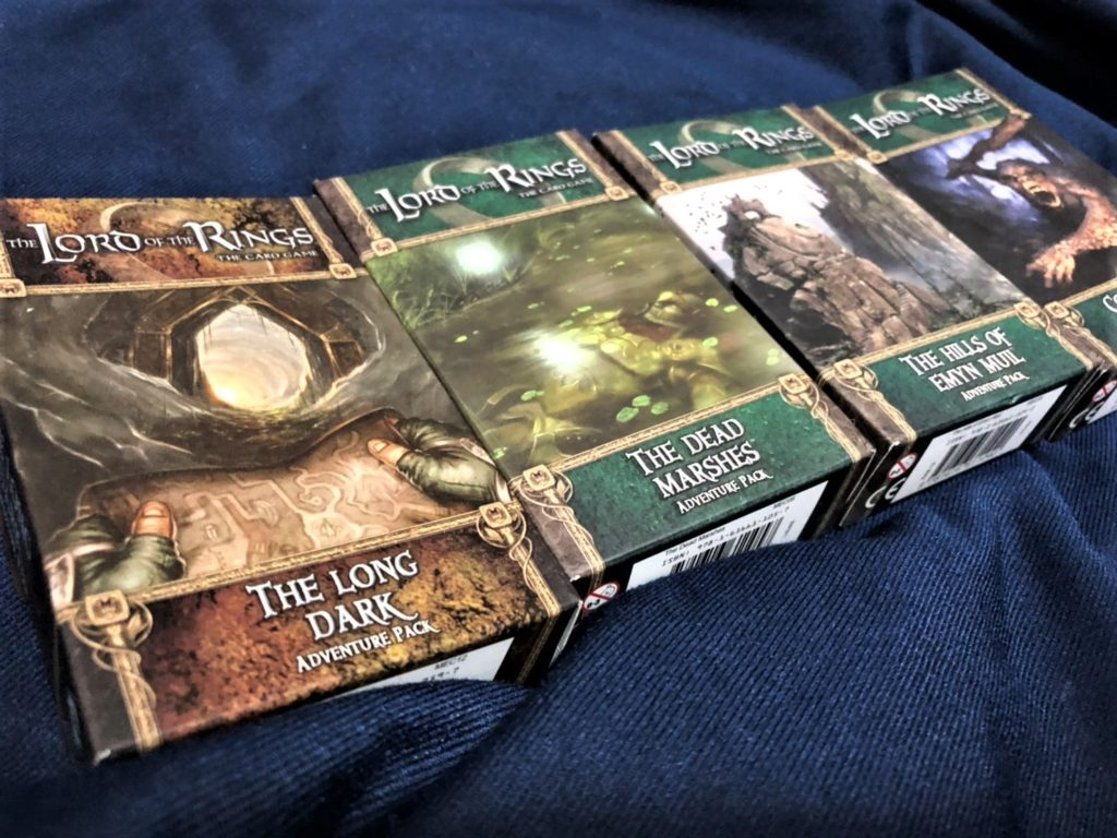 指輪物語LCG (The Lord of the Rings The Card Game)の拡張セット
