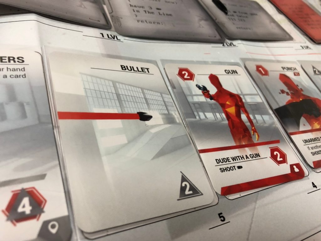 SUPERHOT THE CARD GAMEの銃弾カード