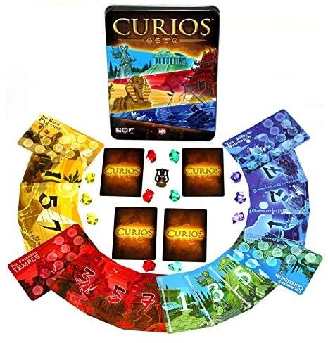 キュリオス(Curios)のコンポーネント