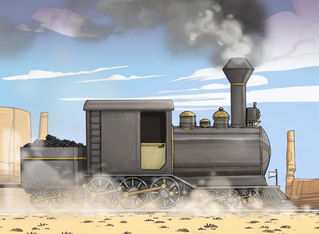 コルト・スーパー・エクスプレスの機関車画像