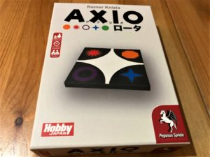 「AXIO(アクシオ)ロータ」のボックスアート