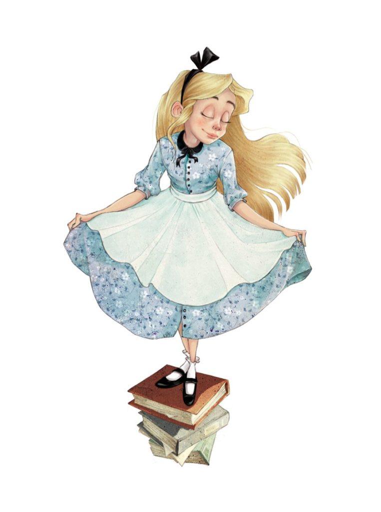 「2人でお茶を」(Tea For 2)のアリス