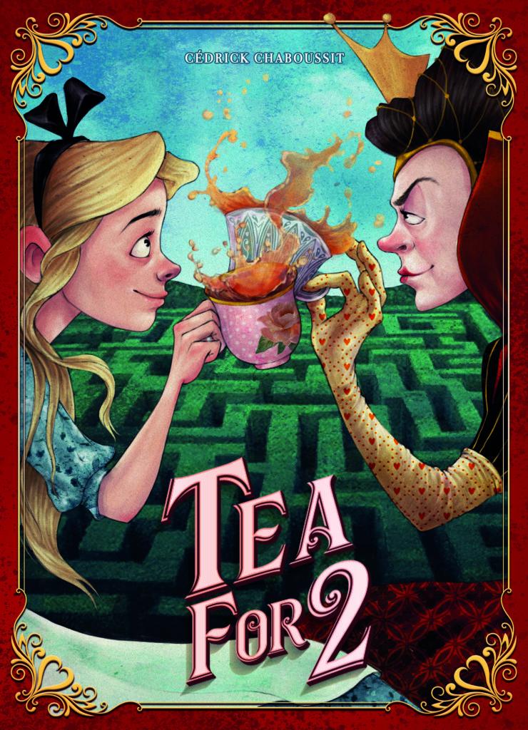 「2人でお茶を」(Tea For 2)のボックスアート