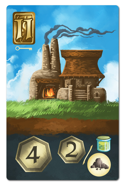 「アバブ&ビロウ」のカード2