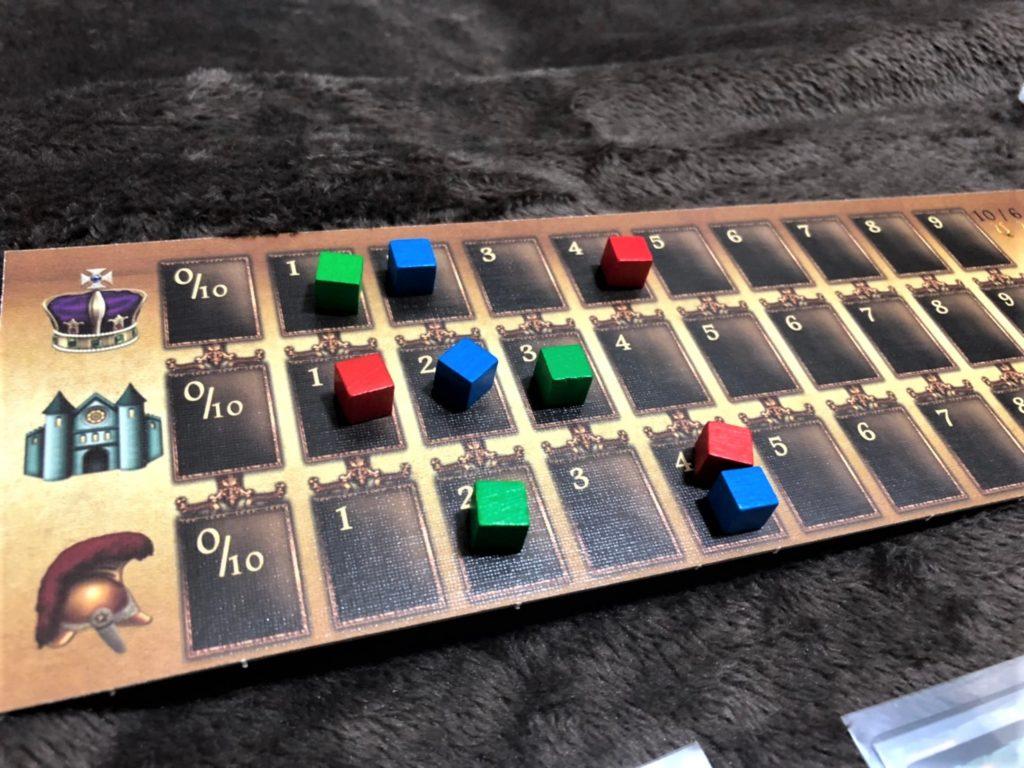 「プログレス:科学技術の発展」のゲーム中盤の様子