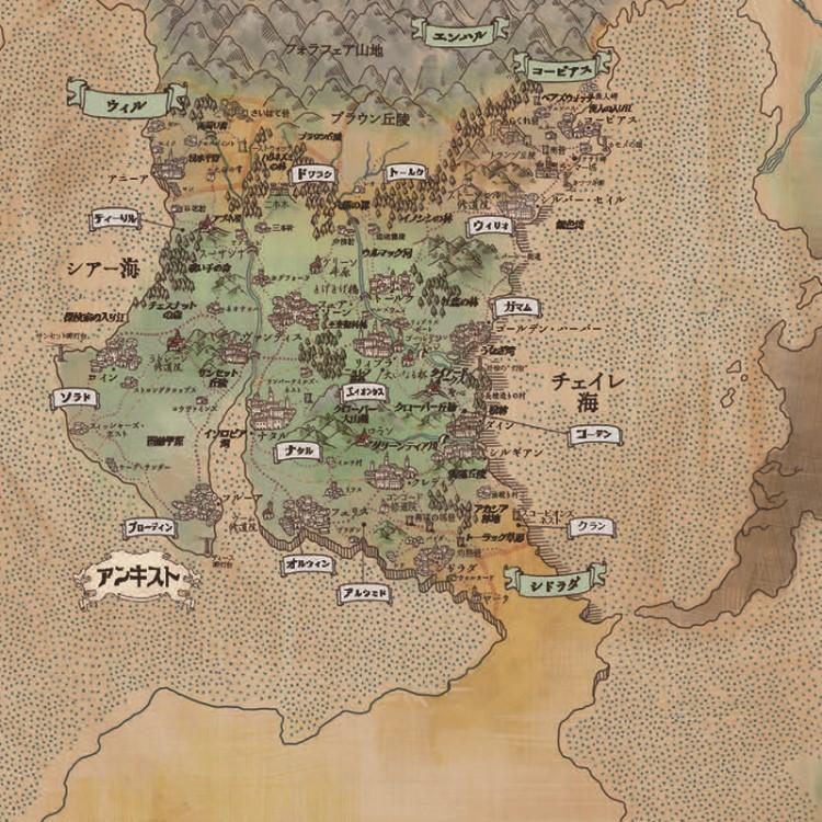 「キングスジレンマ 日本語版」のマップ