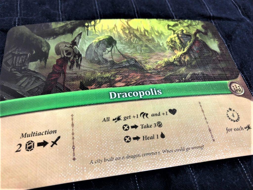 エンチャンターズ(Enchanters )の村カード「ドラコポリス」
