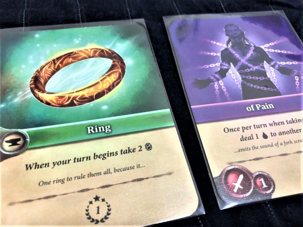 エンチャンターズ(Enchanters )のカード使用例「Ring」+「of Pain」