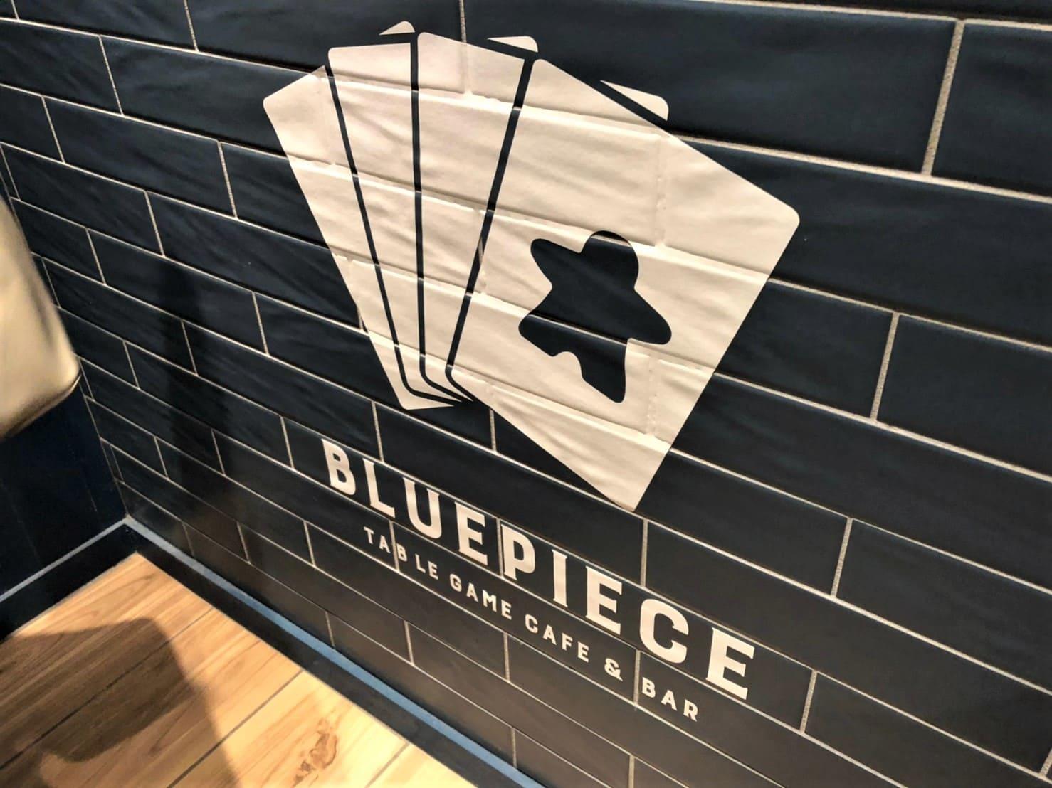 GameCafe&Bar BLUE PIECE(ブルーピース)のロゴ