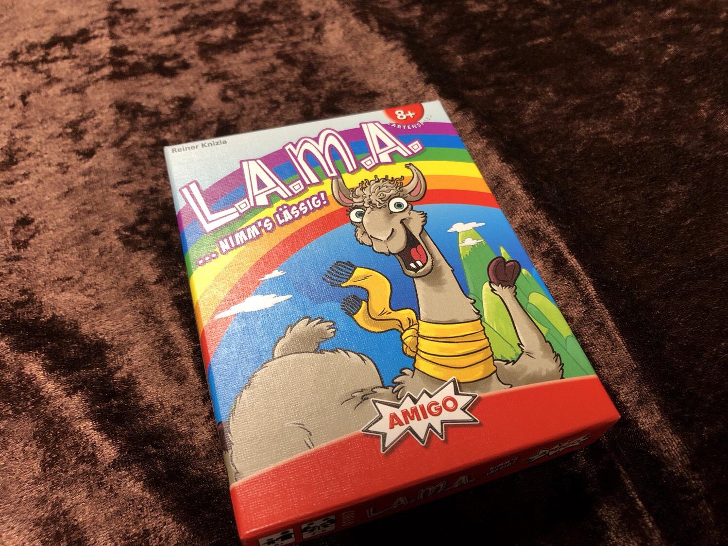 ラマ(L.A.M.A.)のボックスアート