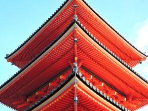 京都の多重塔