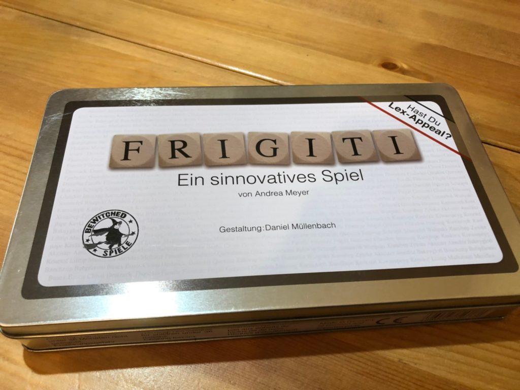 フリジリティ(Frigiti)のボックスアート