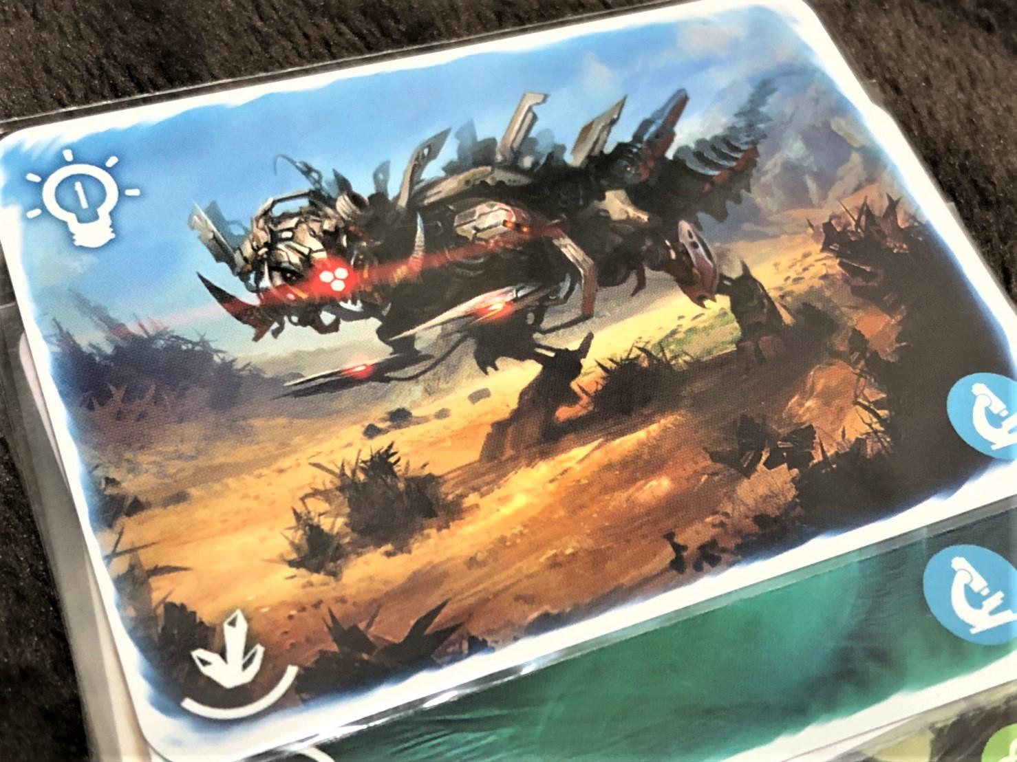 MULTIUNIVERSUMのモンスターカード
