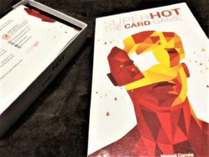 SUPERHOT THE CARD GAMEのボックスアート