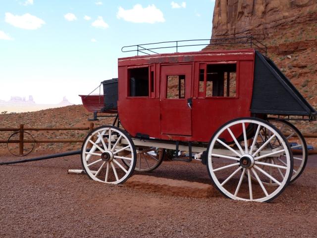 西部の馬車