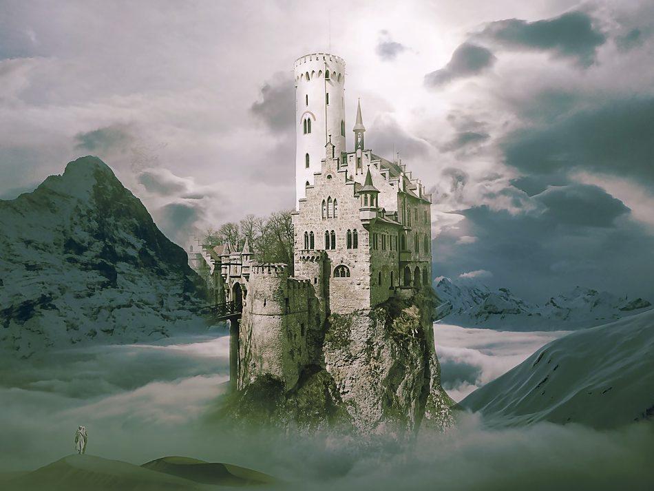 ファンタジーの城