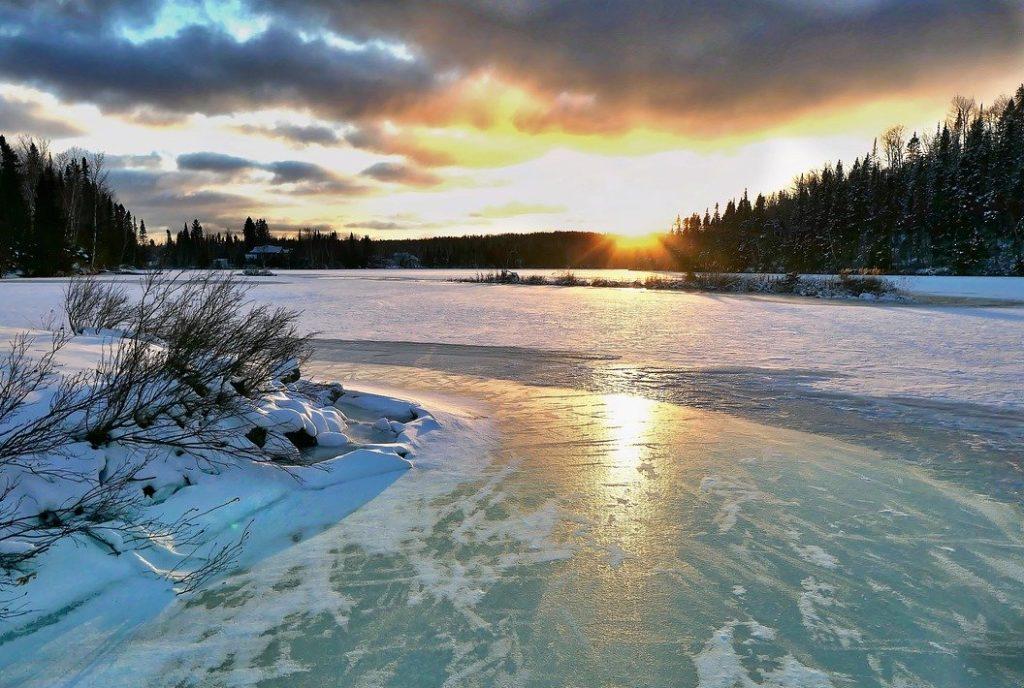 カナダの自然風景