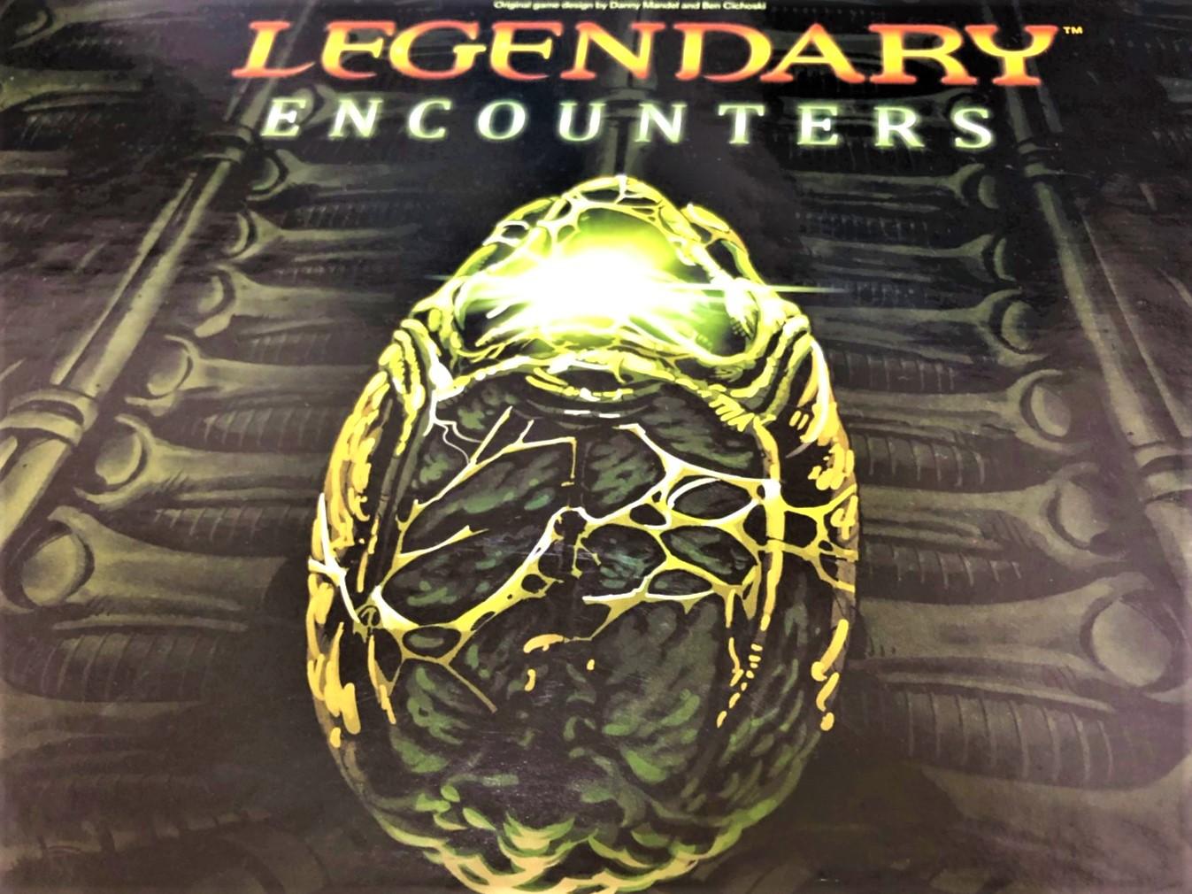 「Legendary Encounters Alien Deckbuilding Game」のボックスアート