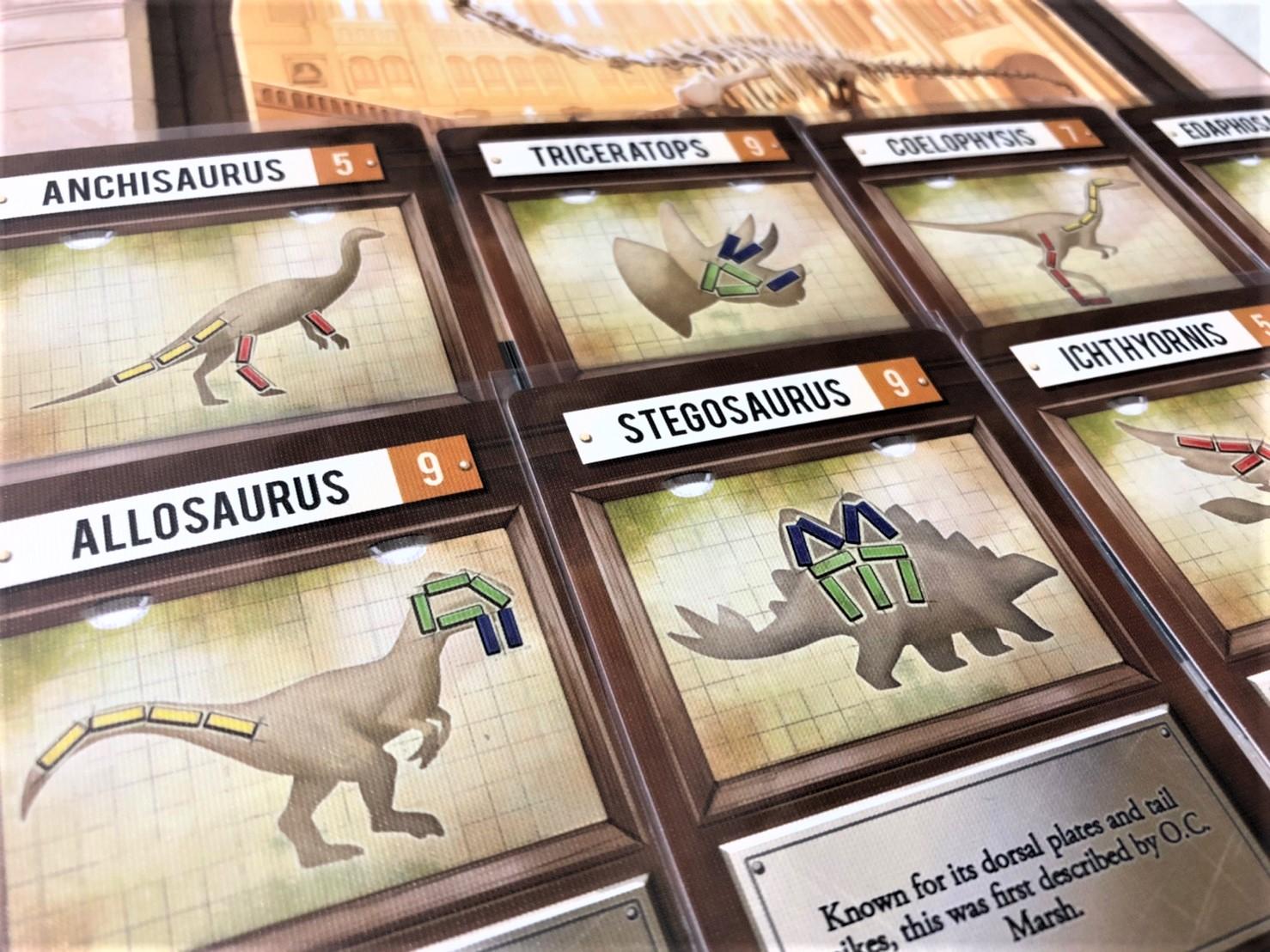 「グレート・ダイナソー・ラッシュ」(The Great Dinosaur Rush)の恐竜カード