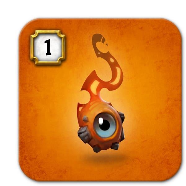サガニのキャラクター「火の精霊」