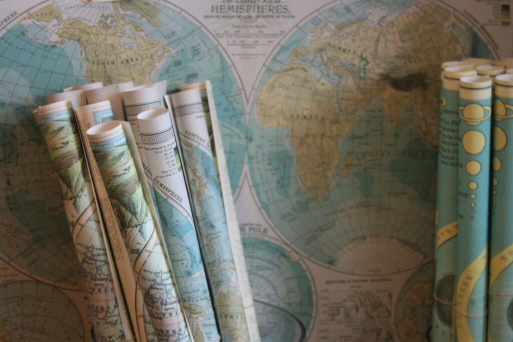 探検家の地図
