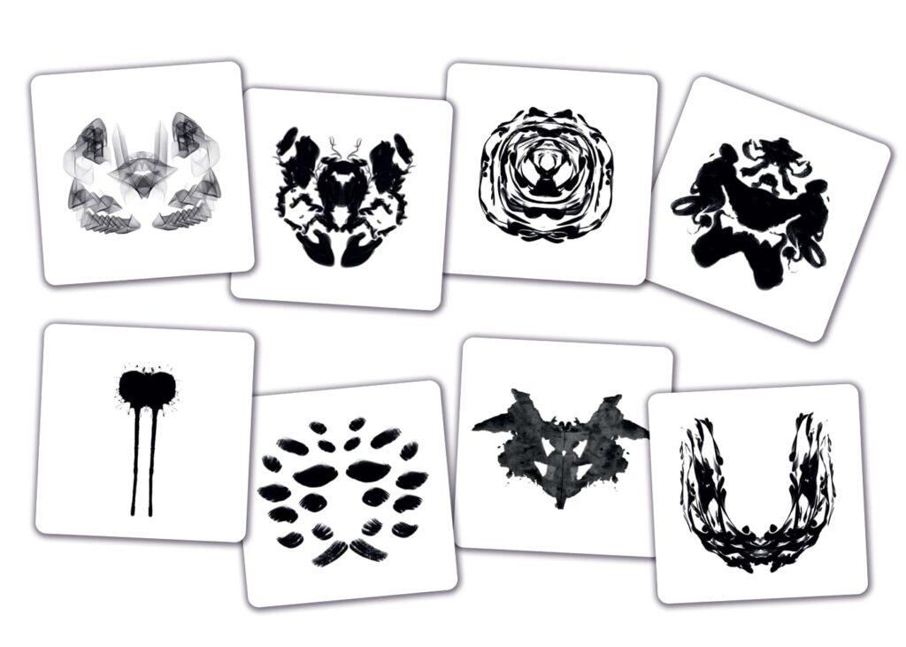 ロールシャッハ日本語版のカード例2