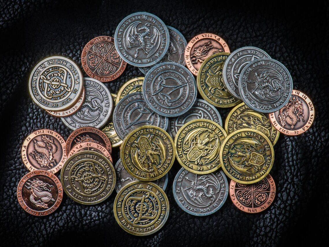 ファンタジー世界の貨幣