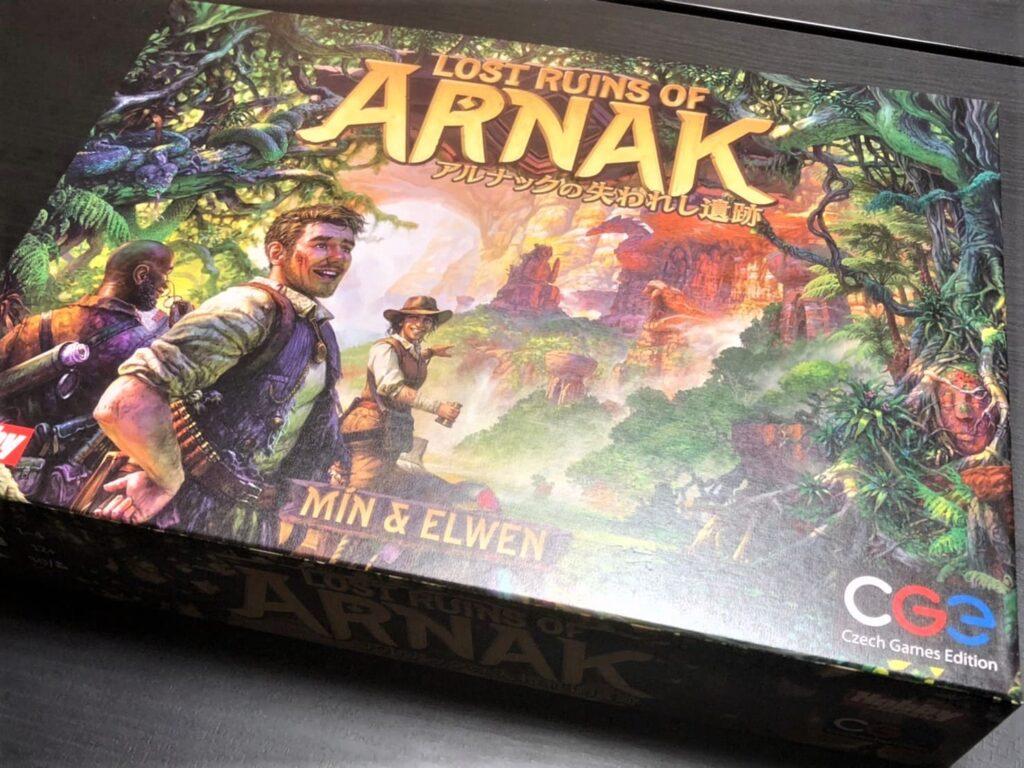アルナックのボックスアート